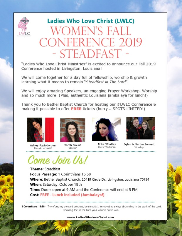 LWLC Fall 2019 Conference